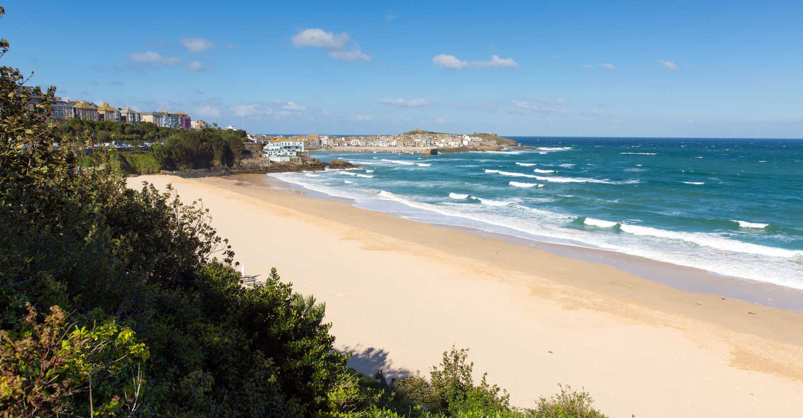 Porthminster Beach in St Ives, Cornwall.