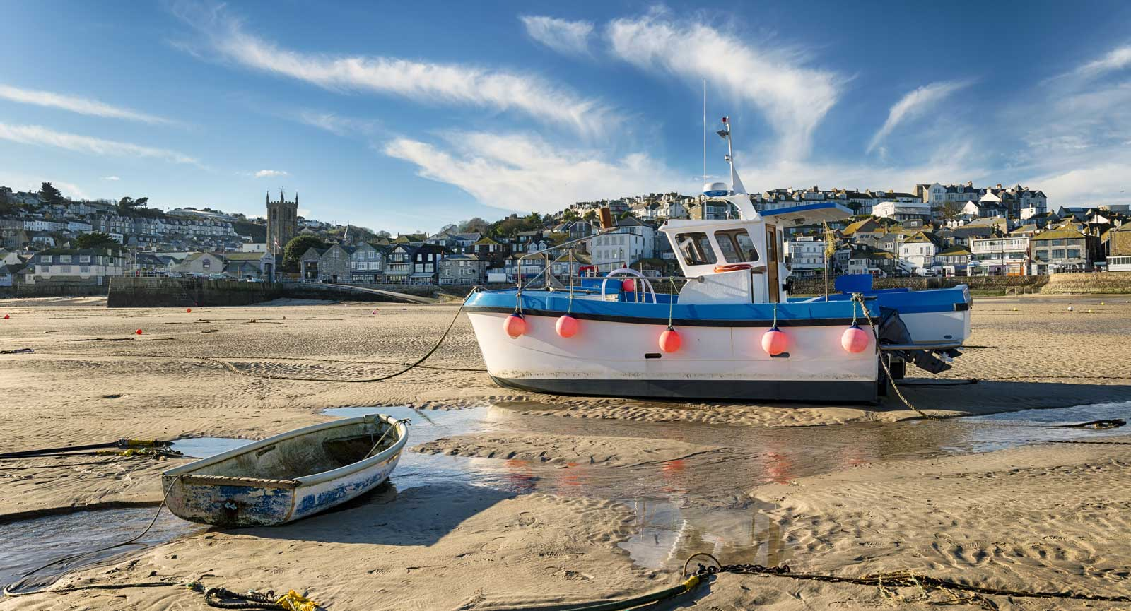 St Ives Harbour in Cornwall.