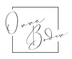 Onna Boden Creative Services main logo in Grey